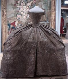 Russian empress Catherine the Great's wedding dress from 1744