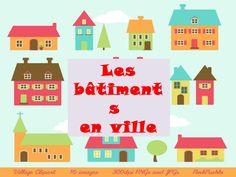 Lexique la ville d´après La Page du FLE by vichugo71 via slideshare