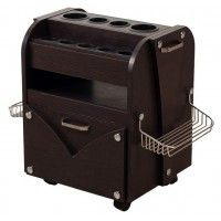WS - TR01 Accessory Cart  This trolley cart light wood comes with convenient cubbies to holster your nail products and pull out storage cabin... $175.00