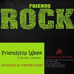 Rock you Friend, with a Gift from M.