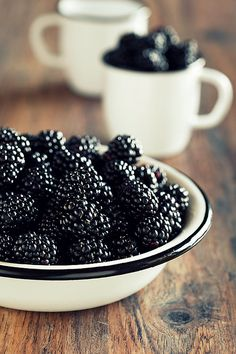 black berries are my favorite. I went berry picking with grandpa to many times to count, and I always came home with a bellyache from eating more than I picked. TEE-HEE