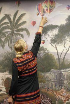 Apartments, Amsterdam, Wall Decor, King, Wallpaper, Digital, Decoration, Cover, Painting