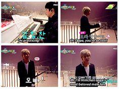 Hahahaha Daehyun XD.........just like Chanyeol is to Kai ❤ #B.A.P #EXO