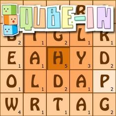 If you like to #play with #words Qube-In is the #game you will surely like. The #objective of Qube-In is to form long words using the inner #tiles to get the #maximum #points.