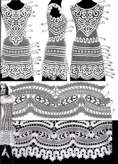 diagram to this dress