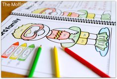 A PRINTABLE educational coloring book that allows kids to COLOR, read word families and write sentences! Learning doesn't get better than this! $