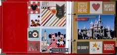 Disney 6x8 Insta Pocket Page Spread - Scrapbook.com