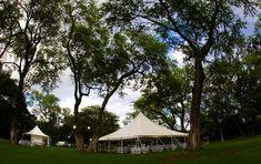 Wedding at Sugarman Estate: Reception tent