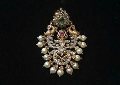 Diamond Pendant, Gold Pendant, Pendant Jewelry, Diamond Earrings, Peacock Earrings, Diamond Jewellery, Emerald Jewelry, Gold Jewelry, Jewelery
