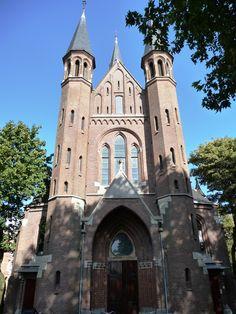 Vondelkerk zo vlakbij het Vondelpark in Amsterdam