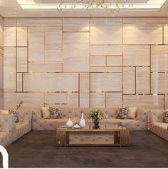 Living room design - Best Home Idea Bedroom Bed Design, Home Room Design, Home Interior Design, Living Room Designs, Bedroom Designs, Interior Modern, Modern Luxury, Living Room Modern, Living Room Decor