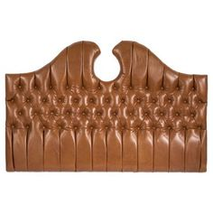 Check out this item at One Kings Lane! Headboards, One Kings Lane, Bedroom, Check, Leather, Decor, Head Boards, Decoration, Bedhead