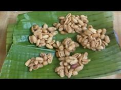 How To Make Nut Cake aka Peanut Drops - YouTube