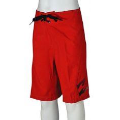 Billabong Boy's All Day Boardshorts - Lifeguard Red