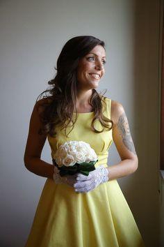 Haider...una stupenda sposa in giallo.