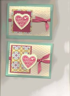 Happy Valentine Heart and Hearts A Flutter by Jetgal - Cards and Paper Crafts at Splitcoaststampers