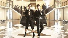 TVXQ releases BTS waiting room video to celebrate 3 million views for 'Something' MV | http://www.allkpop.com/article/2014/01/tvxq-releases-bts-waiting-room-video-to-celebrate-3-million-views-for-something-mv