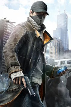 Check out the Aiden Pearce #WatchDogs Coat avail in #Christmasdeal on Fjackets.