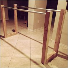 DIY Parallel Bars for Calisthenics and Body Weight Exercise
