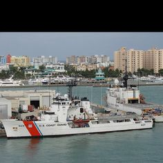 USCG Cutter Valiant. Soon to be Greg's home away from home.