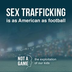 Tomorrow is Game Day. Help stop sex trafficking at the #SuperBowl and beyond by sharing these tips on how to recognize trafficking victims. http://www.covenanthouse.org/recognizing-sex-trafficking-victims-super-bowl-and-beyond #notagame