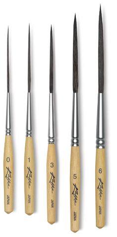 Kafka Design Pinstriping Brushes