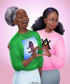 How to Moisturize Natural Hair Daily - The Blessed Queens Black Love Art, Black Girl Art, My Black Is Beautiful, Black Girls Rock, Black Girl Magic, Natural Hair Art, Natural Hair Styles, Natural Curls, Black Girl Cartoon