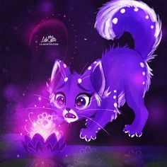 Fox and Magical Flower by LilaCattis on DeviantArt Beautiful Comments, Fox And Rabbit, Great Pictures, Warm Colors, Really Cool Stuff, Sonic The Hedgehog, Mystery, Thankful, Deviantart