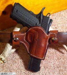 ARMSLIST - For Sale: Handmade custom Buffalo Leather Holster 1911 ...