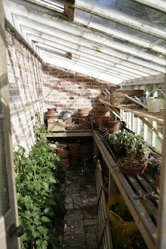 small greenhouse on the side of the potting shed//maybe just maybe Lean To Greenhouse, Cheap Greenhouse, Backyard Greenhouse, Greenhouse Plans, Greenhouse Wedding, Underground Greenhouse, Greenhouse Attached To House, Greenhouse Staging, Greenhouse Shelves