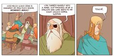 More Funny Norse Comics by Happle Tea - Imgur