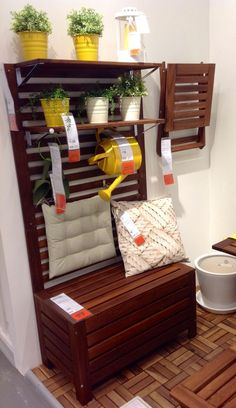 Applaro Application | Pinterest | Balconies, Walls and Storage benches