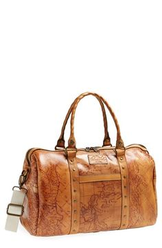 Patricia Nash 'Stressa' Leather Overnight Bag available at #Nordstrom