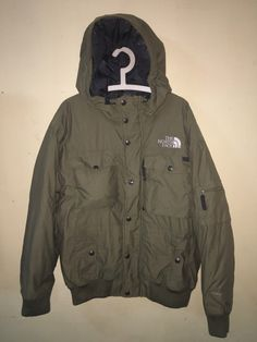 Vintage The North Face down Jacket Navy size M