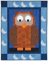 Hoo Patch Crib Quilt Kit $69.99 http://www.quiltandsewshop.com/product/hoo-patch-crib-quilt-kit/quilt-kits#