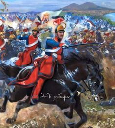 Two Sicilies, Tree Branches, 19th Century, Two By Two, Art Pieces, Military, War, Horses, Pictures