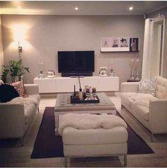❤️ Living Room Modern, Home Living Room, Living Room Designs, Living Room Decor, 1st Apartment, Apartment Living, Tv Decor, Home Decor, Fashion Room