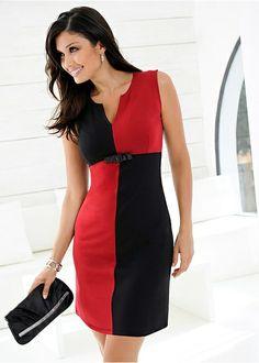 Black square jersey dress £27.99 @bonprix.co.uk