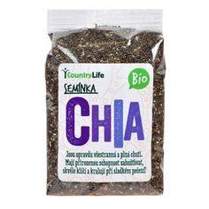 Chia, lněná, konopná: Jezte semínka, kdy to jde Country Life, Personal Care, Fitness, Recipes, Beauty, Food, Anna, Diet, Self Care