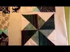 Double Pinwheel patterns - YouTube