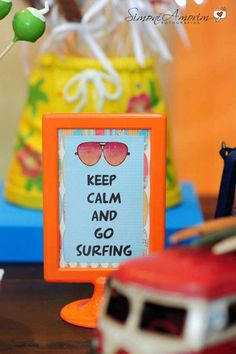 Surf Party Birthday Party Ideas | Photo 2 of 12 | Catch My Party