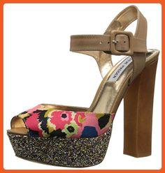 Steve Madden Women's Jilly-F Dress Sandal, Floral Multi, 10 M US - Sandals for women (*Amazon Partner-Link)