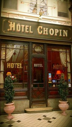 "melusineh: "" Charming and romantic ~ The Hotel Chopin, is located in the heart of Paris, France """