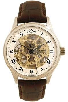 Rotary Skeleton Watch