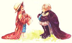 One Piece, ASL, Luffy, Sabo