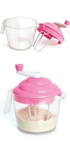 Cupcake shaped batter mixer #product_design #kitchen_gadgets