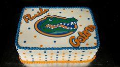 University of Florida Gator Birthday Cake