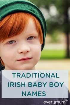 Traditional Irish names never go out of fashion. Not only do they have some great meanings, they also help to connect your little one to the incredible history and mythology of Ireland. Name Of Baby Boy, Irish Baby Boy Names, Baby Boy Middle Names, Irish Boys, Kid Names, Vintage Baby Names, Unique Baby Names, Baby Names And Meanings, Names With Meaning