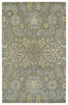 Rug Goddess has many affordable 10' x 14' area rugs. This Transitional Sage Green Helena Rug comes in 7 sizes including a room size rug, a 4 x 6 rug, and even a rug runner.