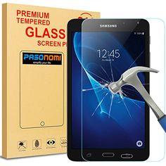 awesome Pasonomi®   HD Vidrio Templado Protector de Pantalla para Samsung Galaxy Tab A 7.0 (SM-T280 / SM-T285)